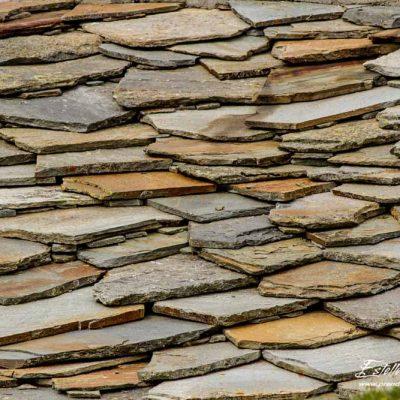 Toit en pierres