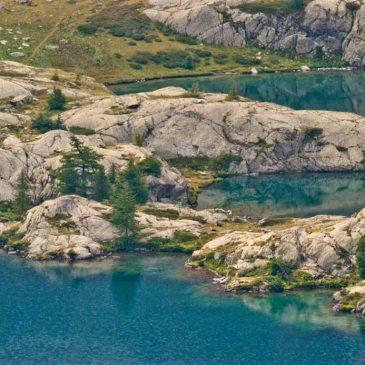 Les lacs de Vens